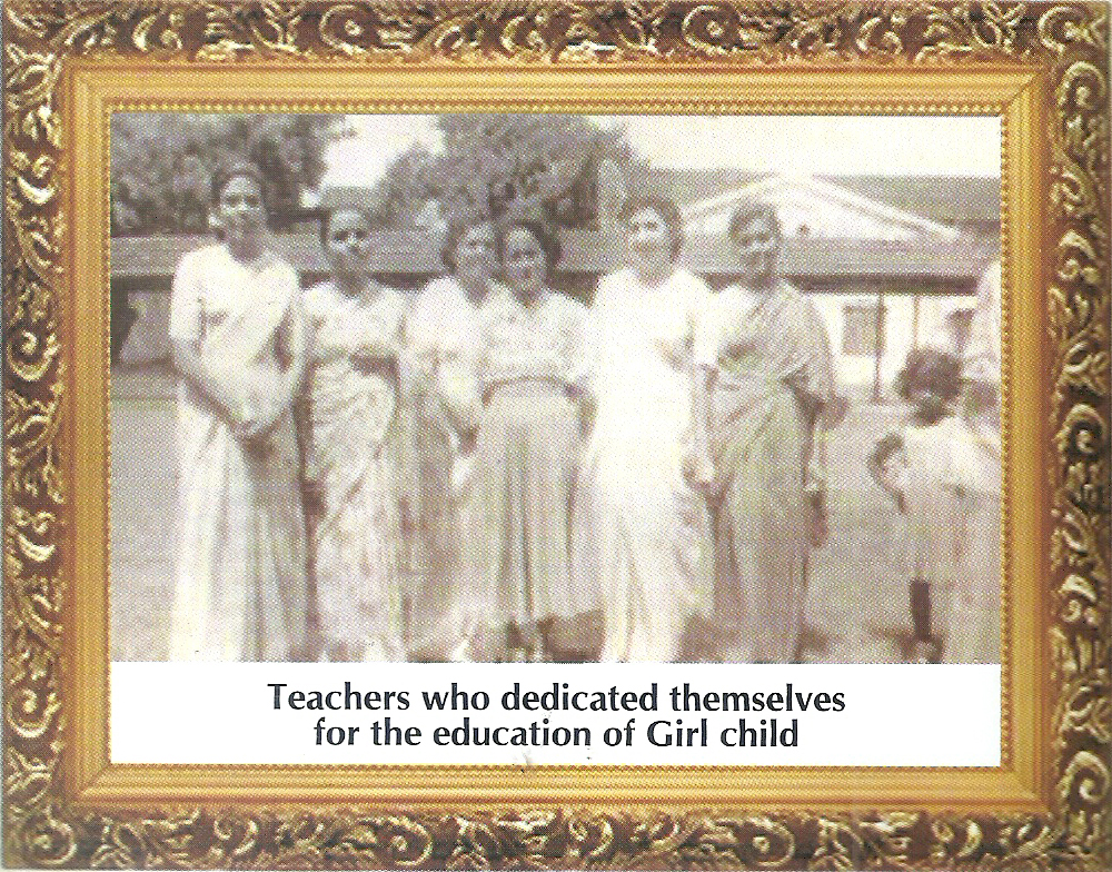 Teachers who dedicated themselves for the education of Girl Child